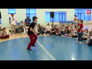 "Девчёнка нереально танцует! Баттл ""Check your dance-2013"" BEGINNERS (Children) Hip-Hop 1*1"