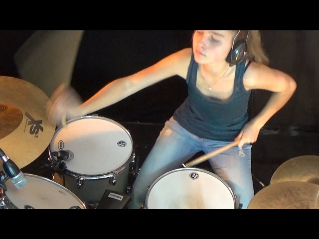 Deep Purple - Woman From Tokyo (drum cover by Sina)