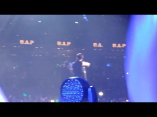"- fancam - 30-10-2014, music bank in mexico, b.a.p (""one shot"")"