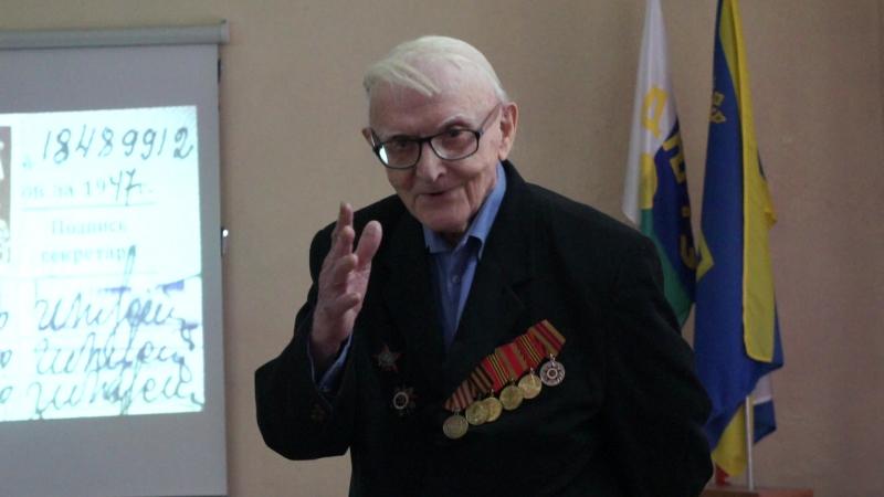 Встреча с Халдеевым Юрием Михайловичем 07 12 16г