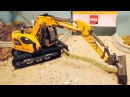 Мультфильм про Экскаватор Трактор и Грузовик в Городке 2D Мультики про машинки В