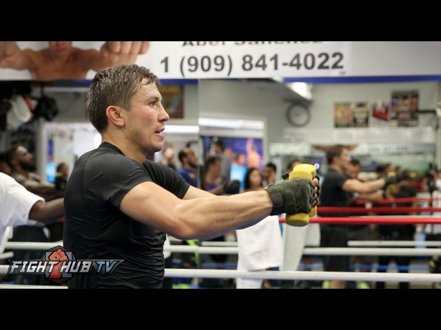 Gennady Golovkin's COMPLETE Strength Conditioning Workout Video