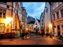 Прогулка по Старому городу Таллин Эстония Old town Tallinn Estonia TheRomanticChannel