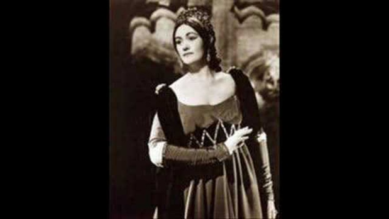 Early Joan Sutherland sings a flawless Alcina in 1959 Ah mio cor schernito sei