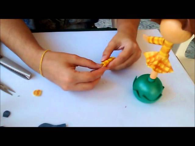 Ponteira Espantalha de E V A 3D com a Profª Hortência Piraciaba