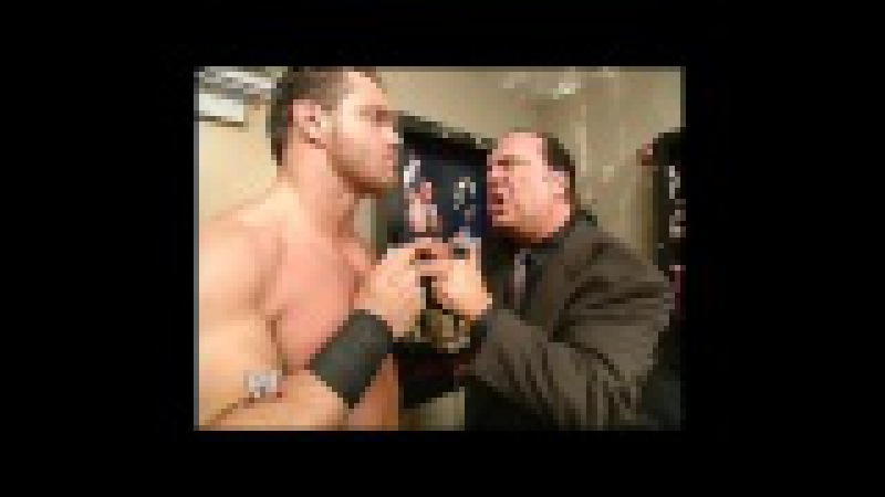 Paul Heyman makes Chris Benoit the 1 entrant in the Royal Rumble SmackDown Jan 1 2004