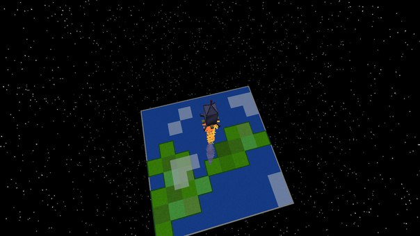 мод польот в космос в майнкрафт 1.7.10 #1