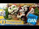 Imaginext Ultimate T Rex Fisher Price Giant Dinosaur Playset Video Review