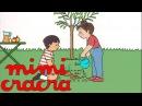 Mimi Cracra fait des plantations Французский язык для детей