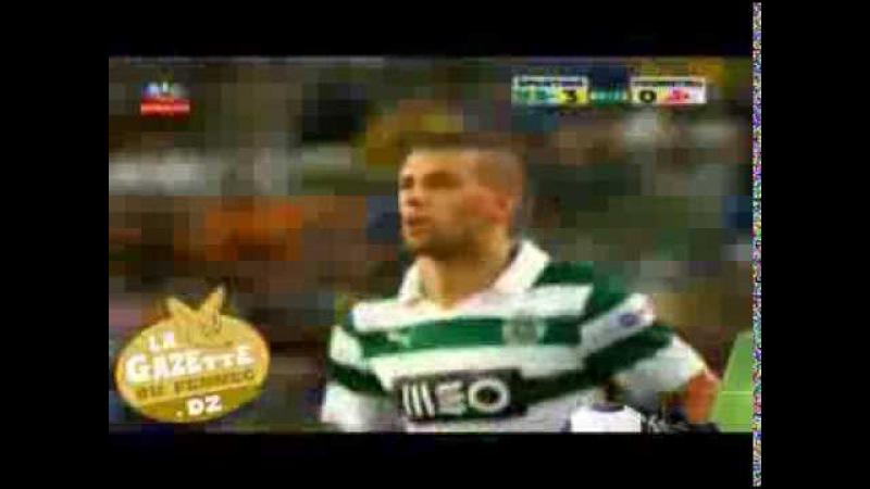 Entrée dIslam Slimani Sporting Lisbonne vs. Fiorentina (Premier match)