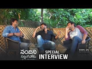 Satyam Rajesh,Sai Dharam Tej & Naveen Special Chit Chat About Nandini Nursing Home | TFPC