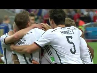 Германия - Аргентина (1:0) | Гол Марио Гётце