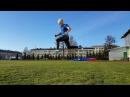 Тренировка на стадионе. Плиометрика. Спринтерские упражнения. Валерий Жумадилов.
