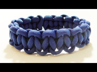 How To Make An Elastic Solomon Bar Paracord Bracelet