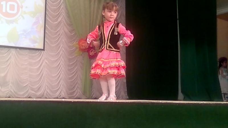 Алсу с танцем Тыпырҙаҡ на конкурсе Гузәлкәй 2017