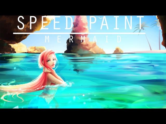 Speed paint- Mermaid- Paint tool sai- Lulybot
