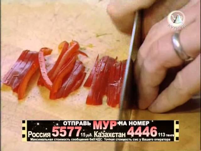 Жить вкусно с Джейми Оливером 20 серия лосось картофелем хрустящий салат