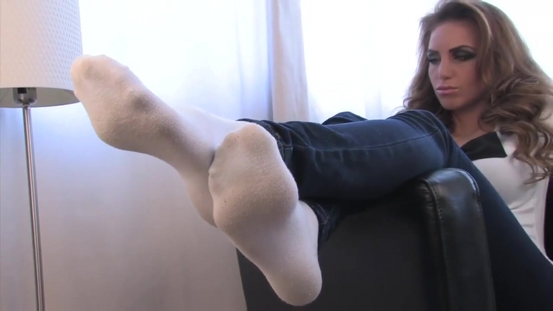 Sexy white socks and