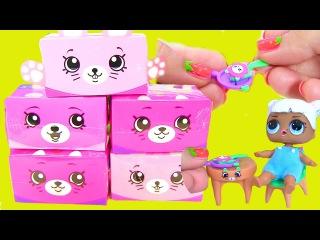 #SHOPKINS Happy Places Яичница для Кукол Blind Bags Видео для Детей #Шопкинсы Распаковка