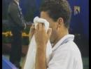 Пит Сампрас заплакал во время матча из за призыва болельщика выиграть встречу ради его тяжело больного тренера
