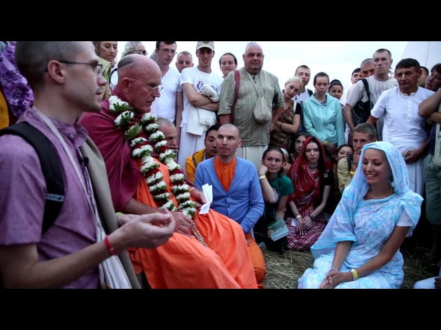 2017 05 09 Инициация Шрила Индрадьюмна Свами Фестиваль Бхакти Сангама