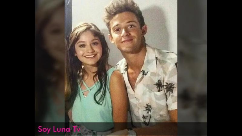 Soy Luna 2 _ Karol Sevilla muy cariñosa con Ruggero Pasquarelli _ 16_06_2017