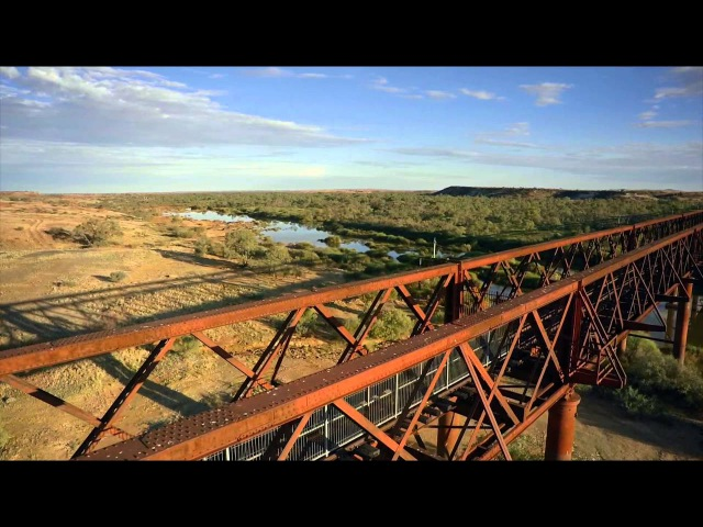 Algebuckina Bridge Ghan Railway