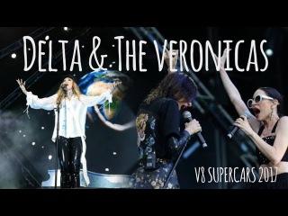 The Veronicas & Delta Goodrem V8 Supercars 2017
