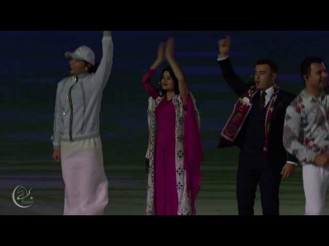 Ashgabat 2017 Ýapylyş Dabarasy | Öňe öňe jan Watanym Türkmenistan