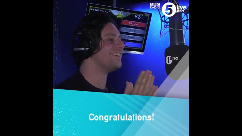 When @jimmy9 told @gregjames @felixwhite how er DELIGHTED he is to be named in @BBCSport's all time Ashes