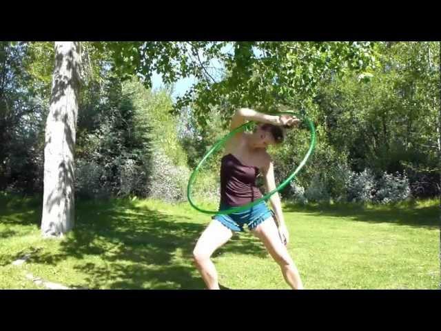 The drama queen wrap hoop trick tutorial with BABZ