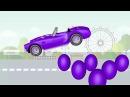 Узнайте Цвета с Человек Паук и Киндер Сюрприз Мультик про Машинки Для Детей Развивающее Видео