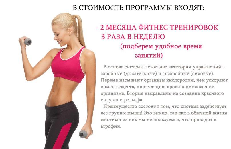 Программа как сбросить вес на дому