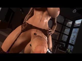 Секс от первого лица с футой Sound futanari futa 3D фута big dick cum big tits anal 3d porn хентай hentai Shemale Sissy bimbo