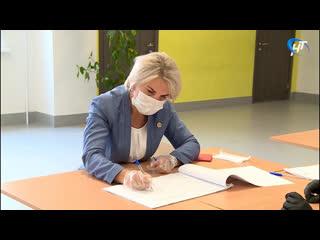 Первый вице-губернатор Вероника Минина проголосовала за поправки в Конституцию