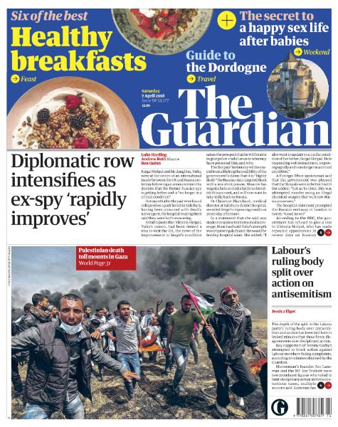 The Guardian  April 7 2018