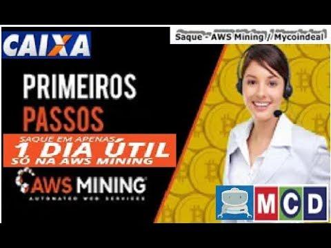 【AWS MINING】☛Visitando a mineradora | 16% mês | Cadastro na Mycoindeal | Dicas importantes