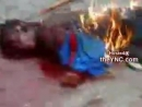 дети убили и сожгли негра