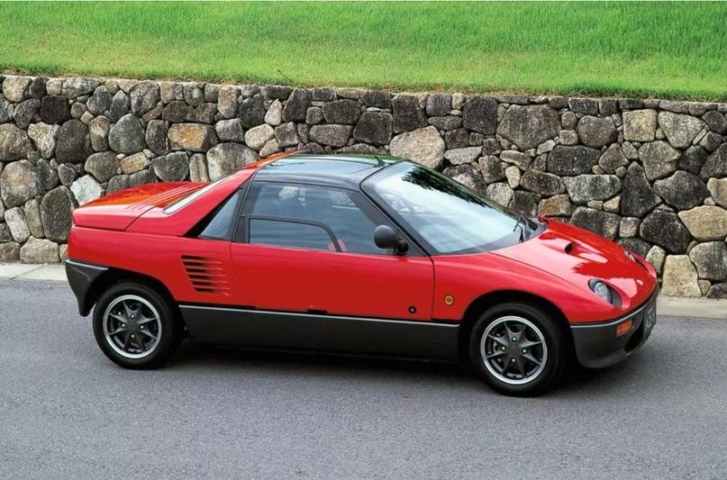 700 килограммов ярости редкого спорткара Autozam AZ-1, который и Suzuki, и Mazda., изображение №14