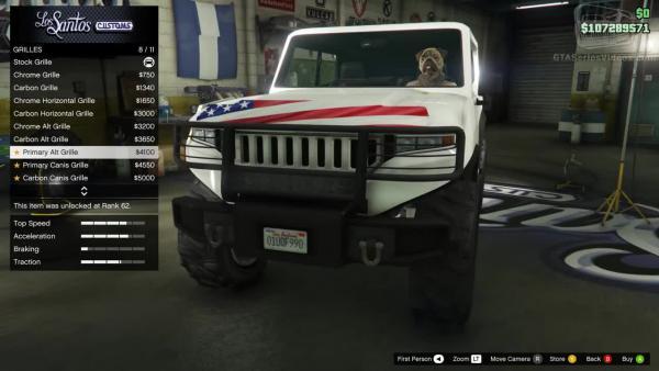 Canis Freecrawler для GTA Online