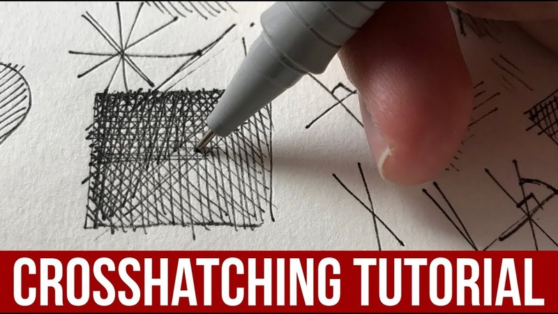 Beginner s Crosshatching Tutorial! Drawing Technique Principles