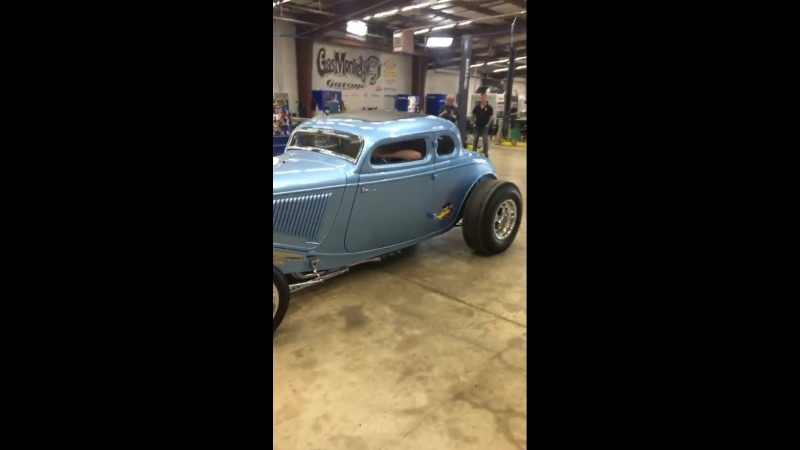 Gas Monkey Grage 34 Ford Hot rod(FastNLoud, быстрые и громкие)