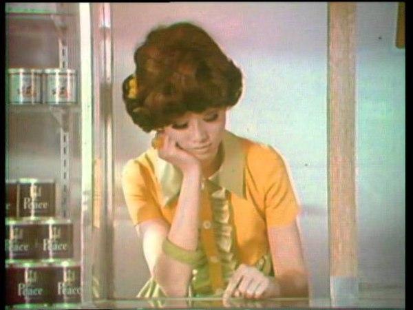 懐かしのCM 帝人バルック 看板娘 1968
