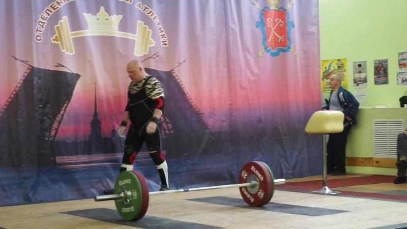 Чемпионат СПб Рашид Ицаев рывок 3 подх
