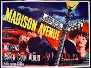 Madison Avenue (1962)  Dana Andrews, Eleanor Parker, Jeanne Crain