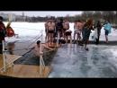 Крещение. Купель на Ольгином пруду у собора Петра и Павла. Петергоф.