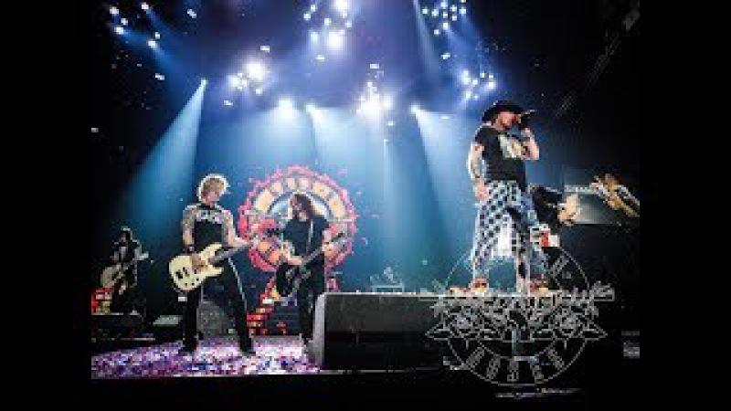 Guns N Roses Feat Dave Grohl Paradise City Tulsa Oklahoma 14 Nov 2017