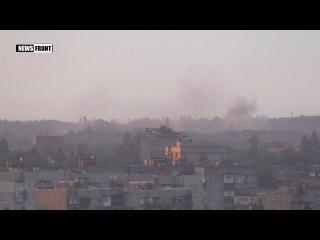 Артиллерия ВСУ бьет по Донецку