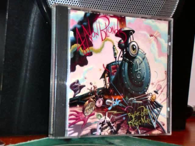 4 NON BLONDES CD 1992 FULL ALBUM BIGGER BETTER FASTER MORE CD COMPLETO