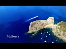 Beautiful Mallorca Balearic Islands AERIAL DRONE 4K VIDEO